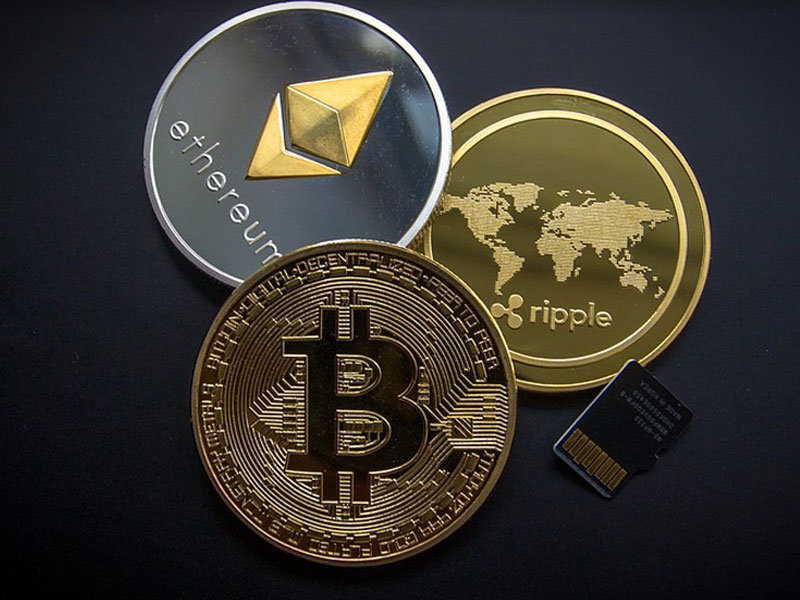 Bitcoin, Ethereum a Ripple