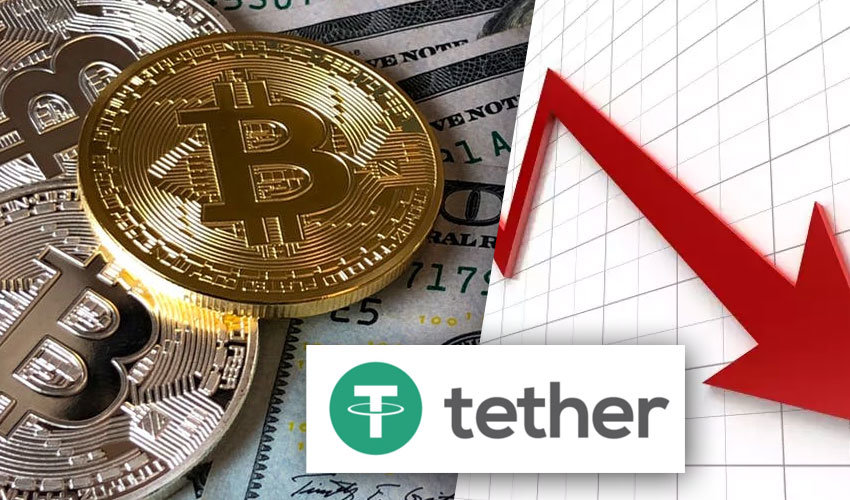 Bitcoin, Bloomberg a Tether