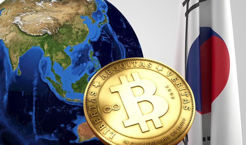 Južná Kórea a Bitcoin