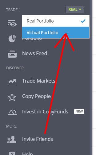 virtuálne portfólio