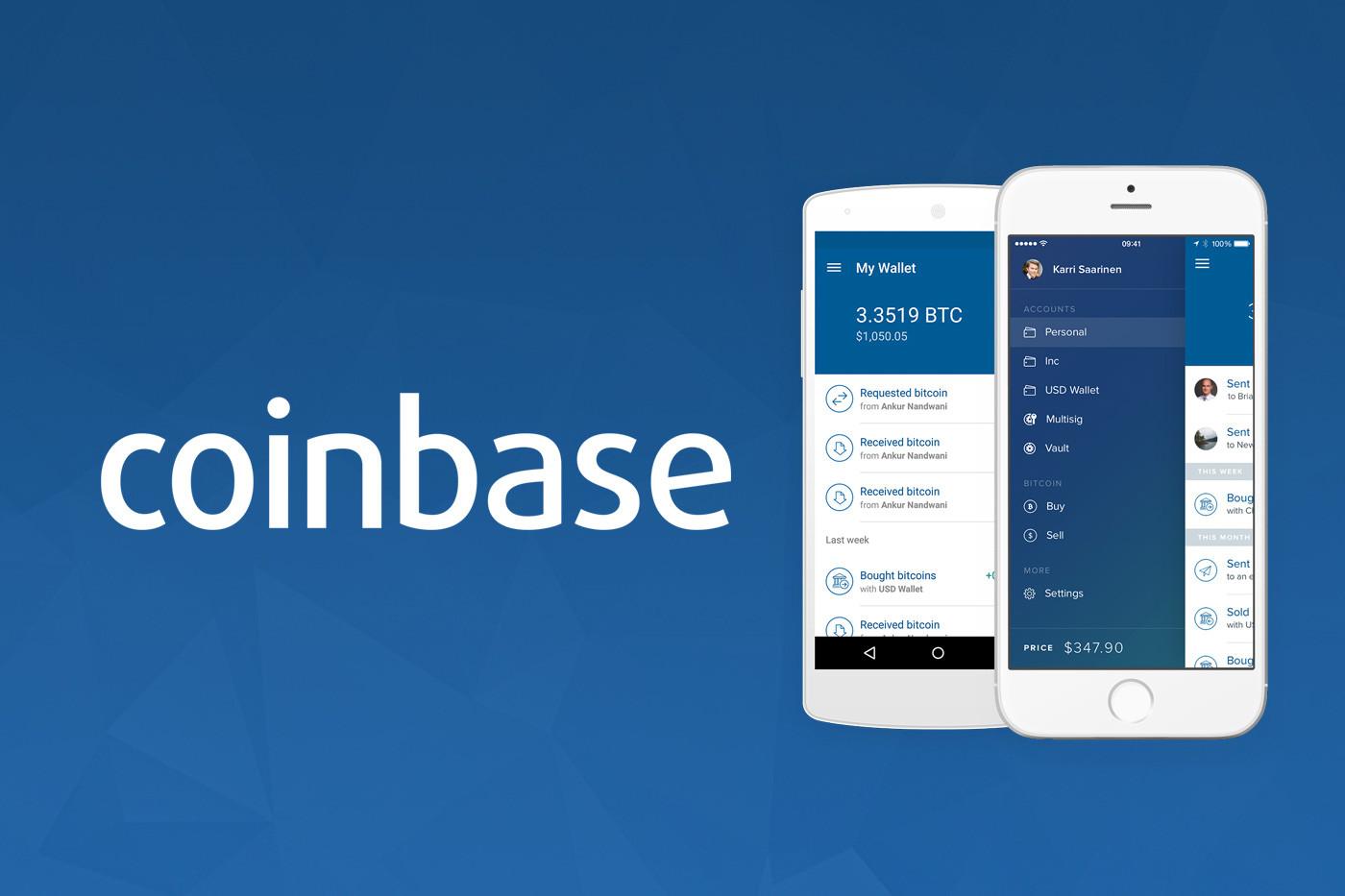 Coinbase - ilustračný obrázok