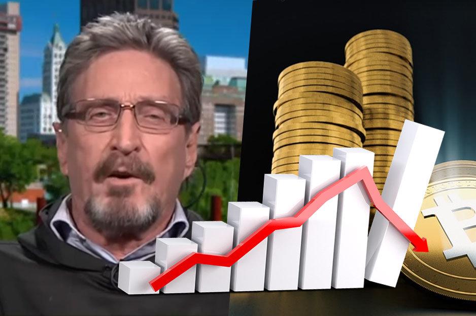 John McAfee a Bitcoin