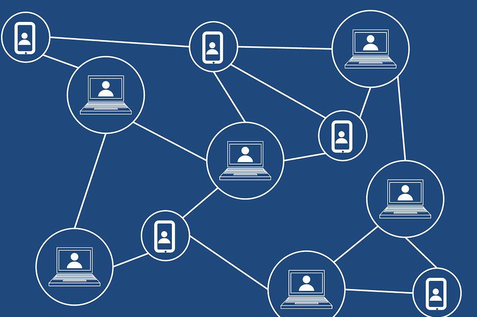 Blockchain ilustrácia