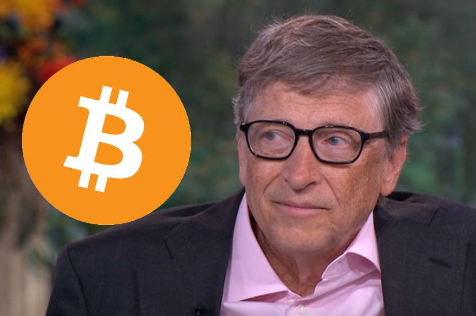 Bill Gates a kryptomeny