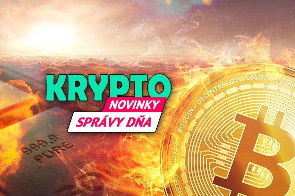 Správy dňa Bitcoin