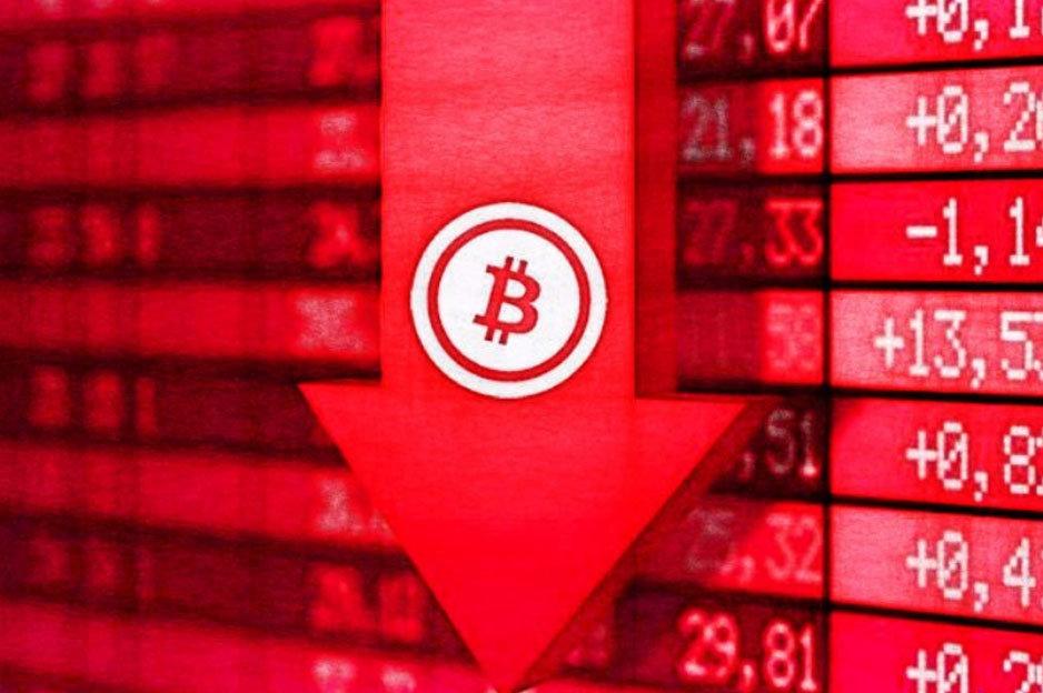 Pád Bitcoinu