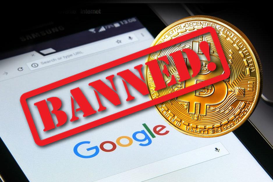 Zákaz reklám na kryptomeny cez Google