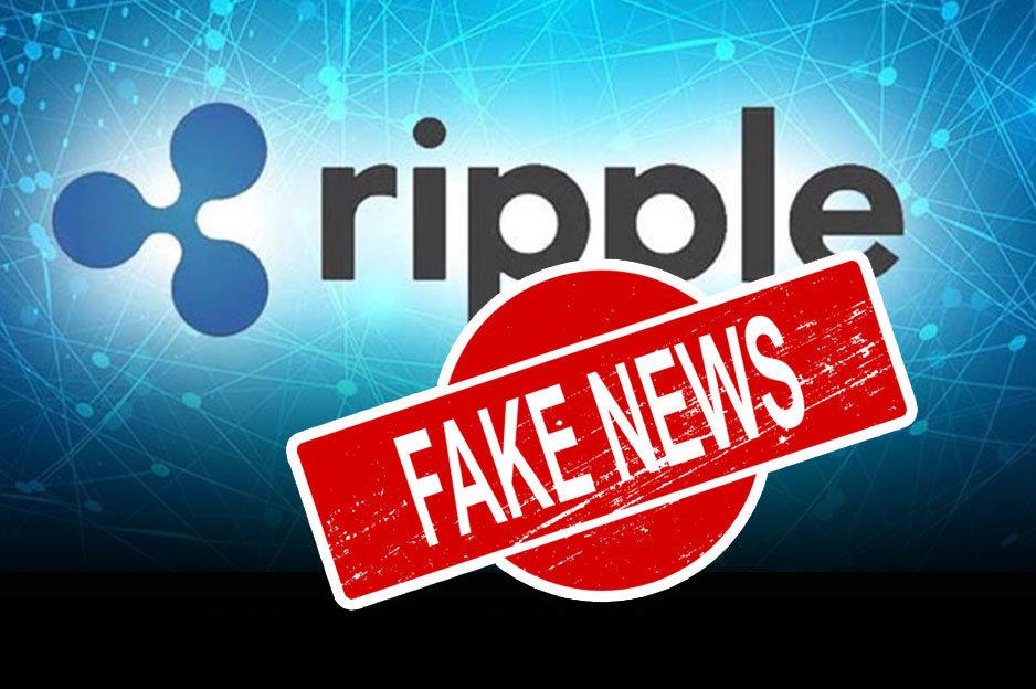 Ripple Fake News