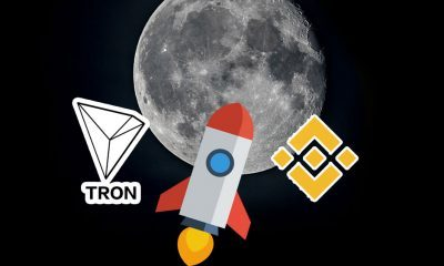 Binance Coin a Tron to the moon