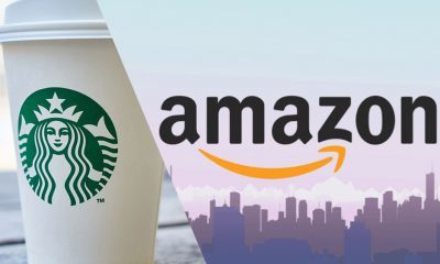 Amazon a Starbucks kryptomeny