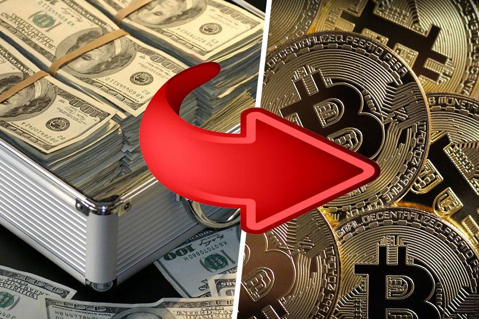 Peniaze do Bitcoinu