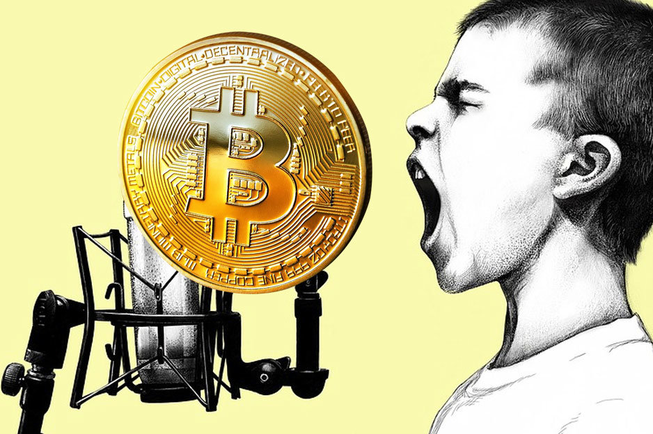 Bitcoin kričí