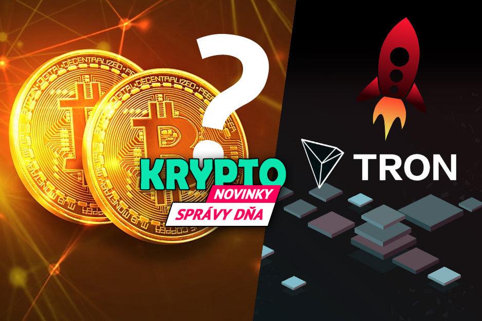 Správy - Bitcoin či Tron