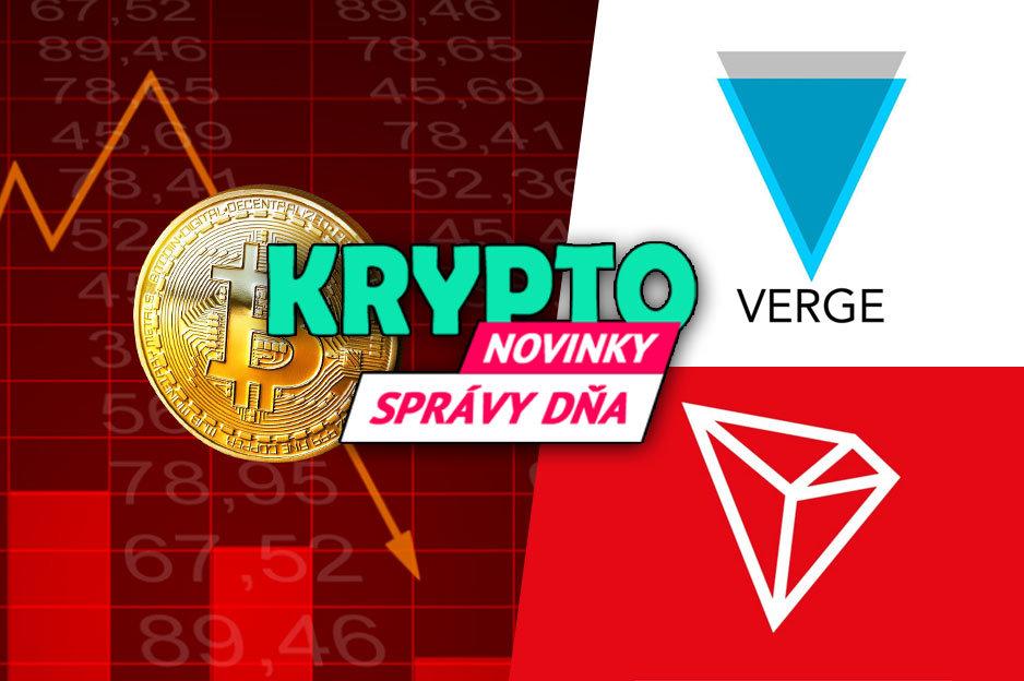 Bitcoin, Verge, Tron