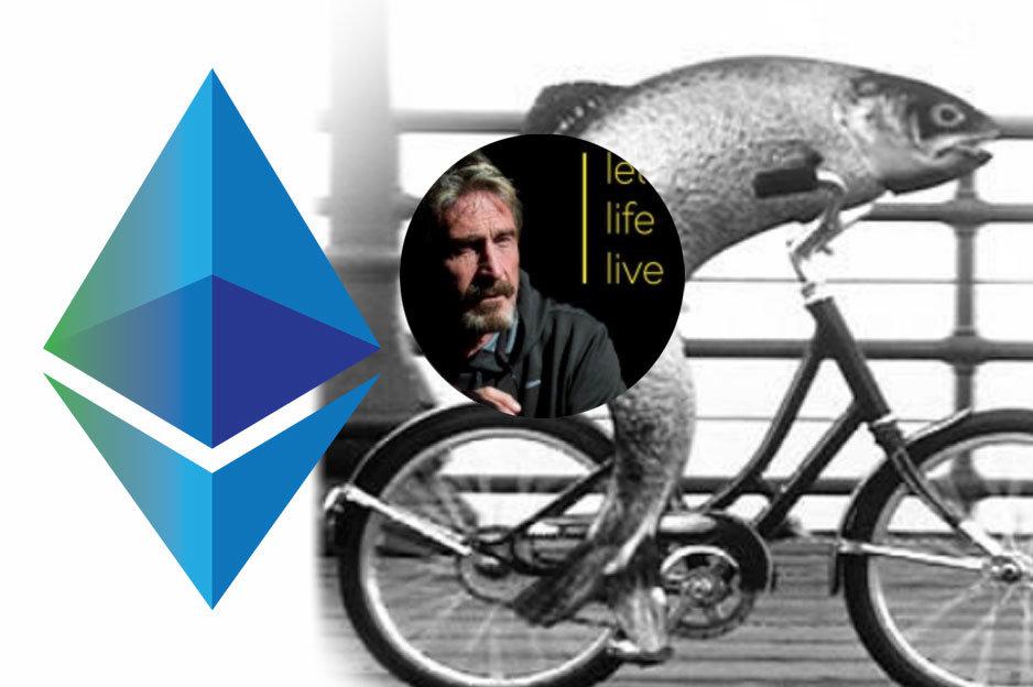 Ethereum a John McAfee