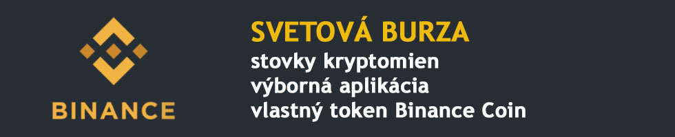 Binance - svetová burza s kryptomenami
