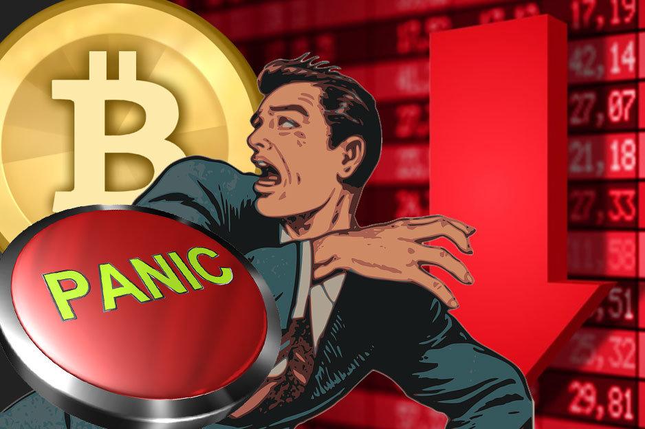 Pád Bitcoin
