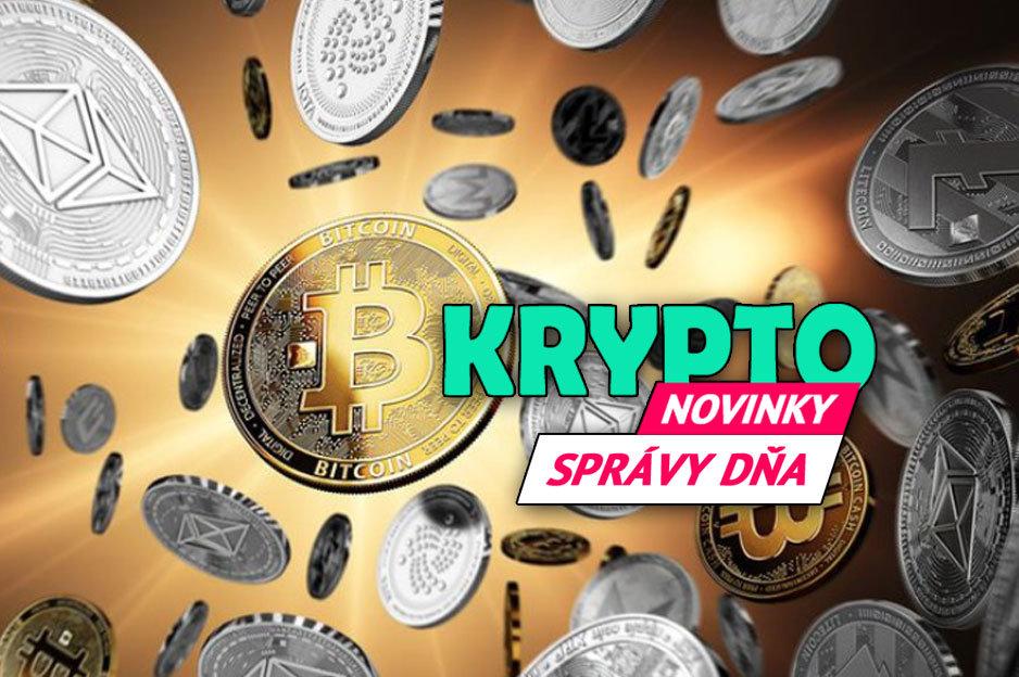 Správy dňa - kryptomeny