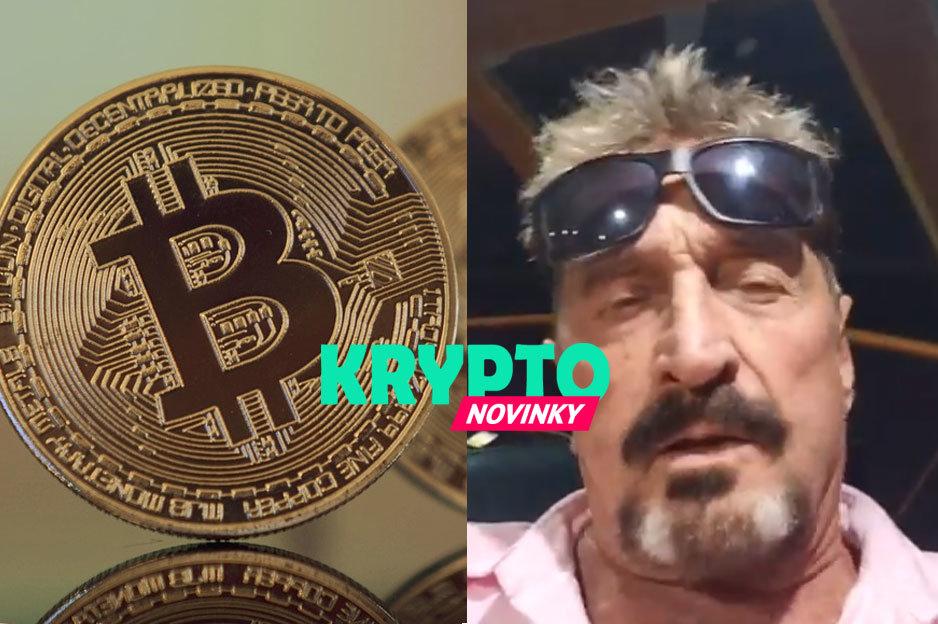 McAfee, Bitcoin