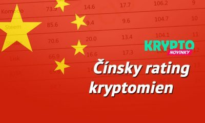 Čínsky rating kryptomien