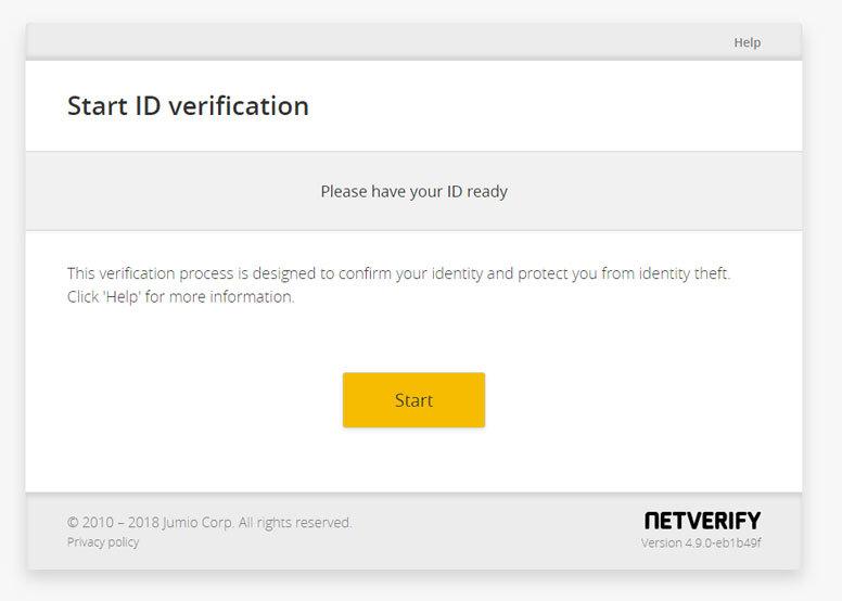 BInance verifikacia info