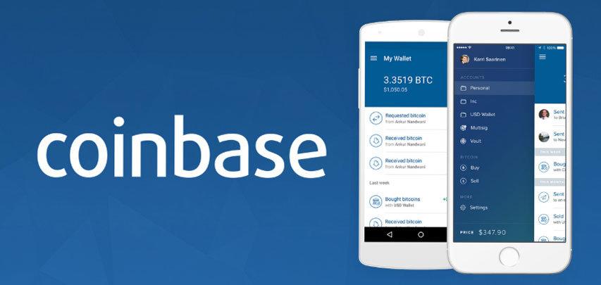Coinbase Aplikácia