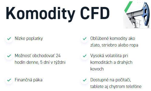 Komodity CFD XTB