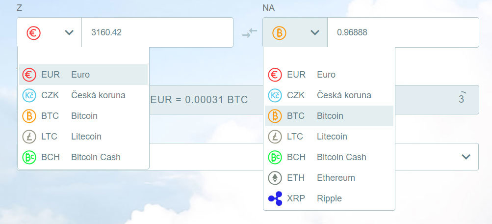SimpleCoin - ponuka