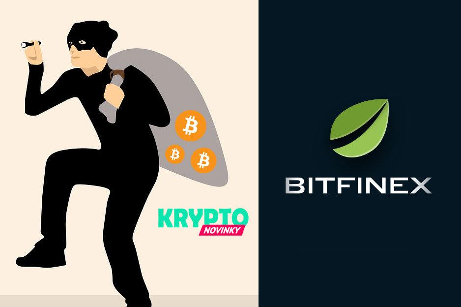 Bitfinex krádež