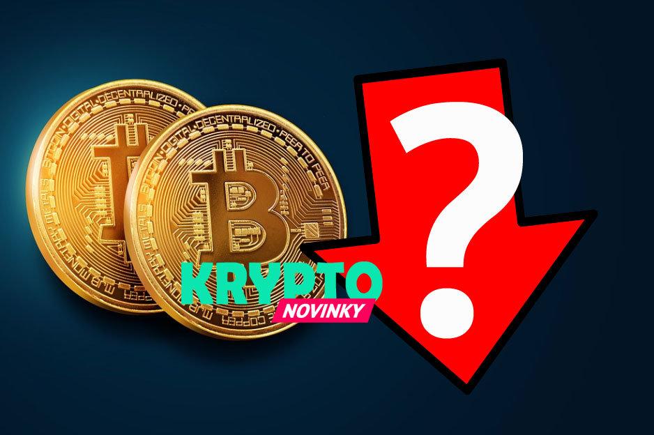 Bitcoin pád