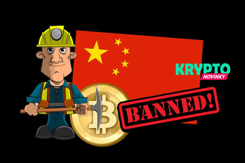 Mining Bitcoinu Čína