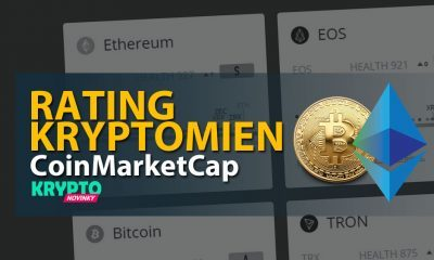 Rating kryptomeny CoinMarketCap