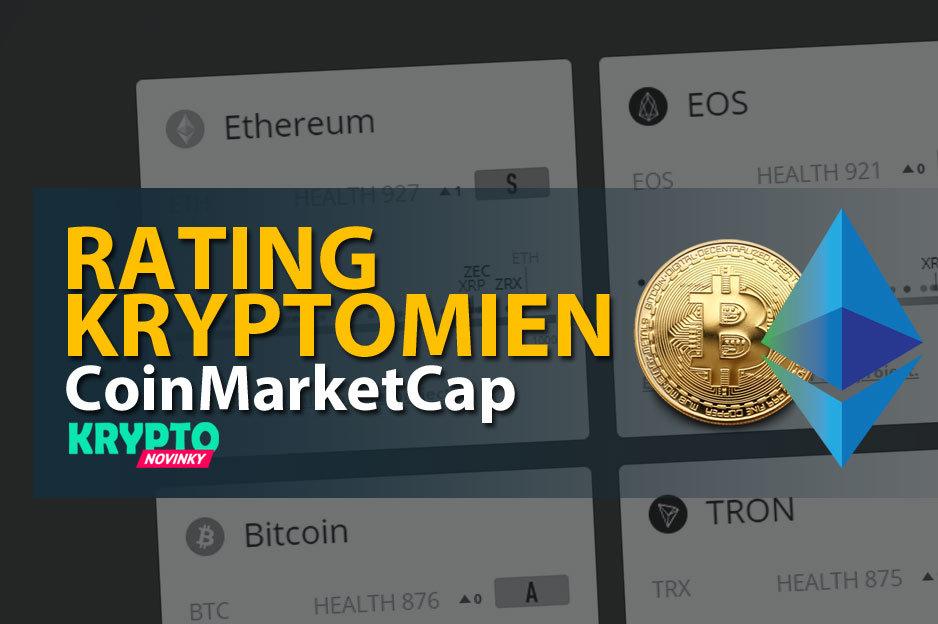 Rating kryptomeny CoinMarketCap
