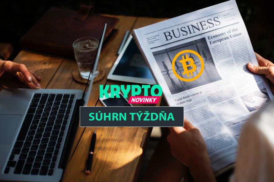Súhrn týždňa Bitcoin