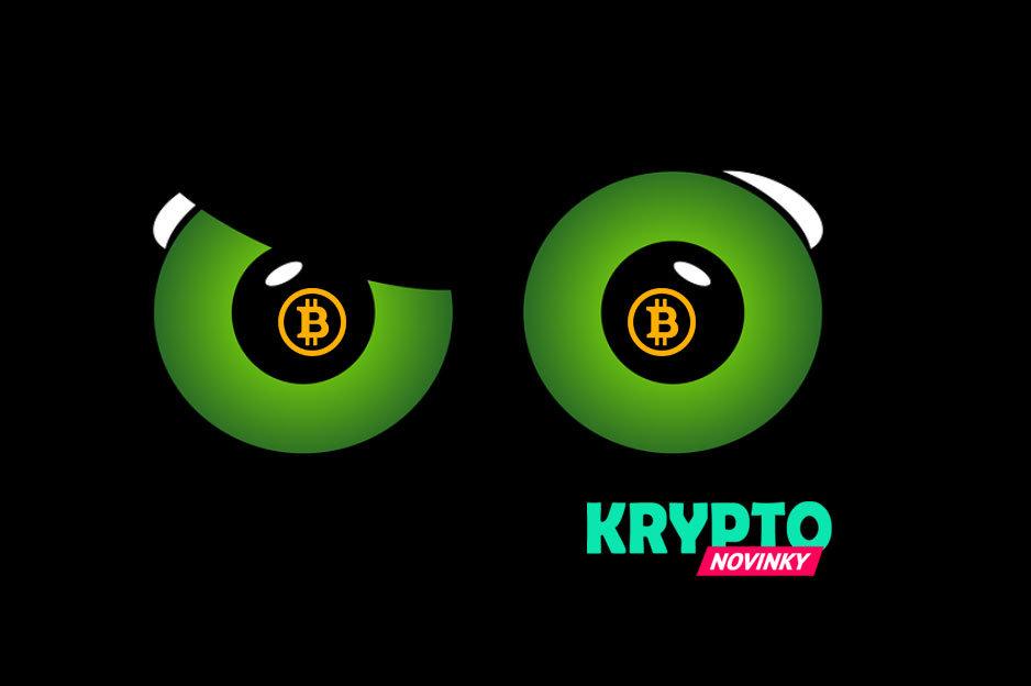 Bitcoin oči