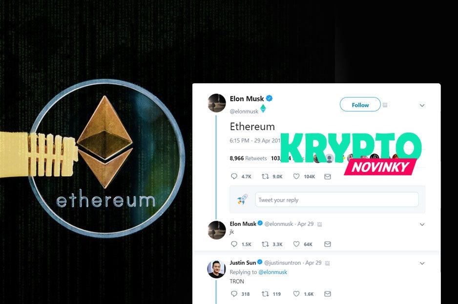 Elon Musk Twitter Ethereum