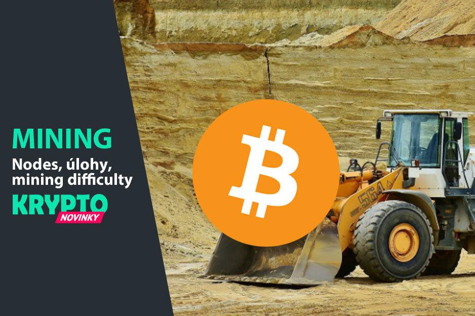 Mining ťažba Bitcoin