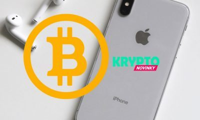 Bitcoin a Apple, iPhone
