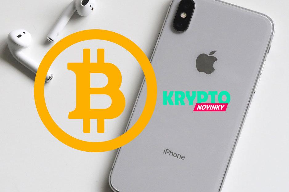 Bitcoin a Apple, iPhone