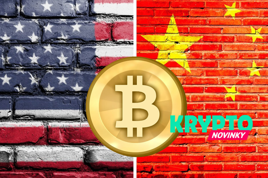 Bitcoin, USA a Čína