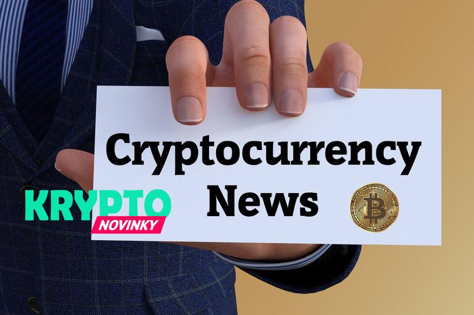 Kryptomeny novinky