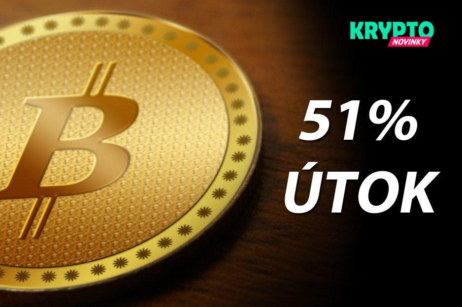 útok Bitcoin 51%