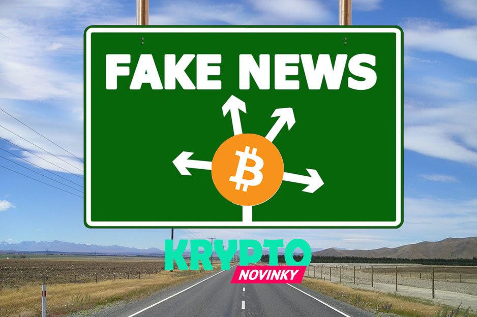Bitcoin Fake News