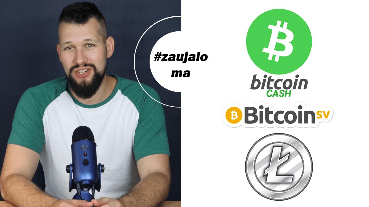 Bitcoin Cash, Bitcoin SV, Litecoin