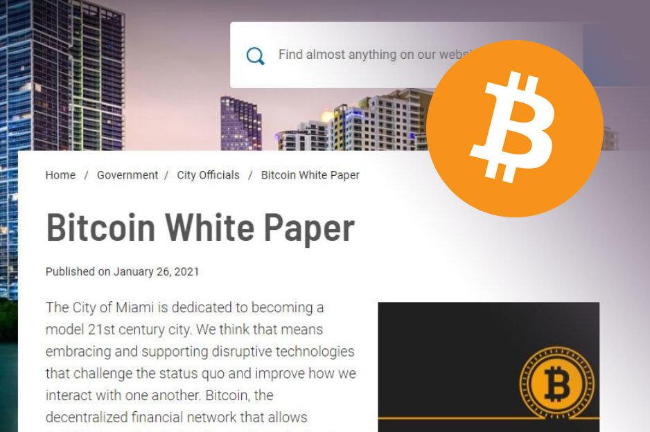 Miami Whitepaper Bitcoin